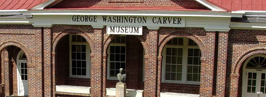 The George Washington Carver Museum at the Tuskegee Institute National Historic Site