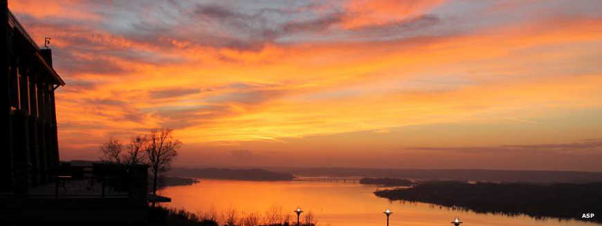 Sunset at Lake Guntersville State Park