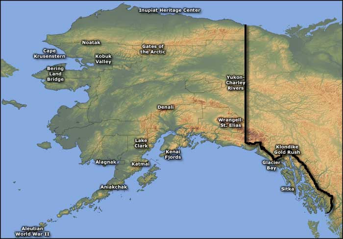 National Park Service Sites in Alaska