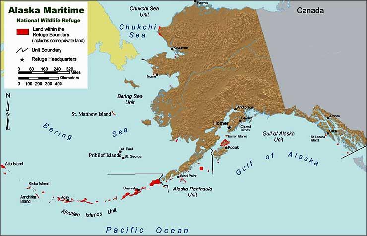 Alaska Maritime National Wildlife Refuge Alaska National
