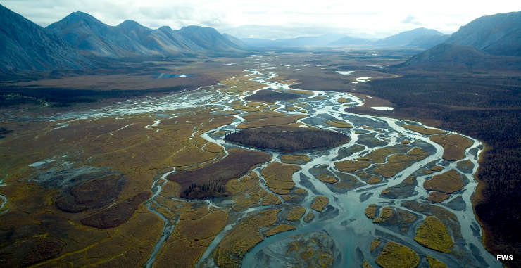 The Brooks Range on the Arctic National Wildlife Refuge