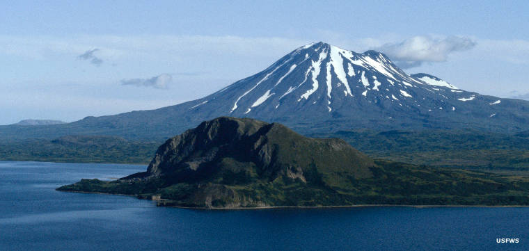 Mt. Peulik Volcano, Becharof National Wildlife Refuge