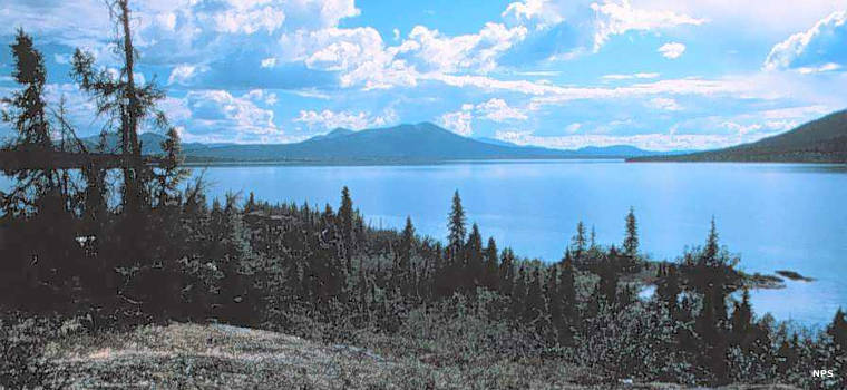 Walker Lake, source of the Kobuk River