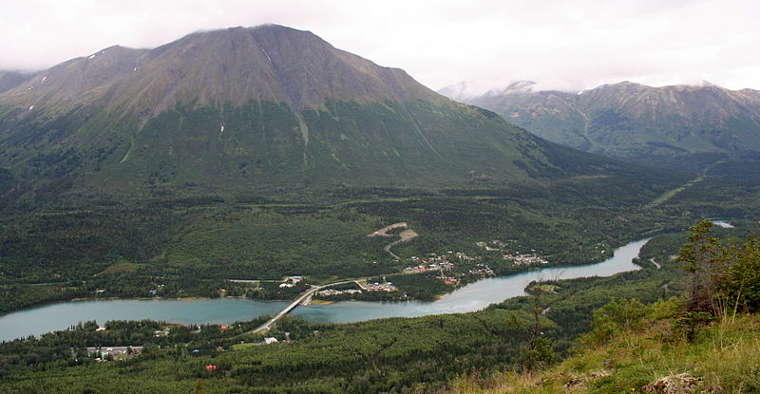 Sterling highway scenic byways in alaska for Cooper landing fishing