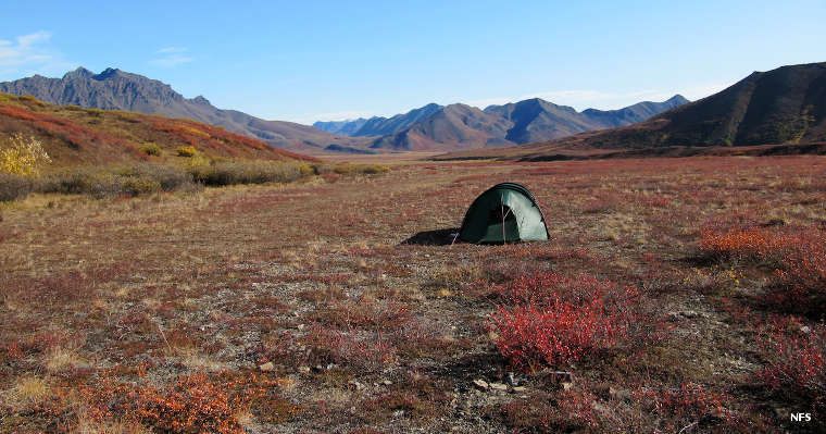 A back country airstrip in Noatak Wilderness