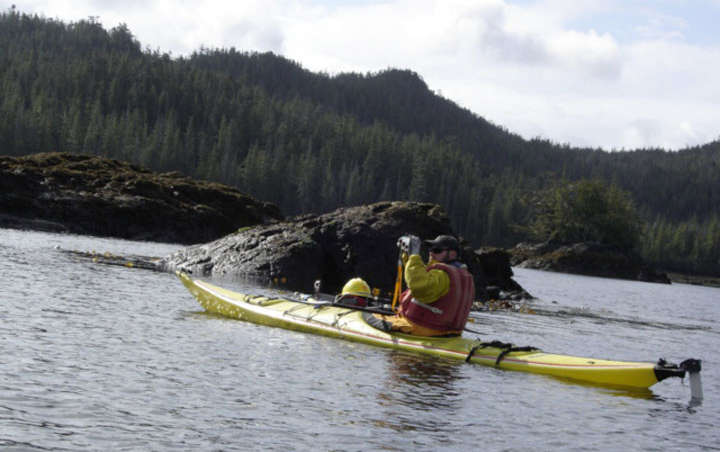 Sea kayaking at South Prince of Wales Wilderness