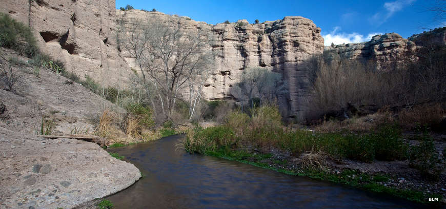 Another view looking up Aravaipa Creek