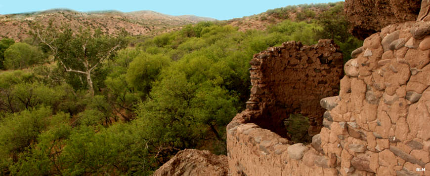 View from an Ancestral Puebloan ruin