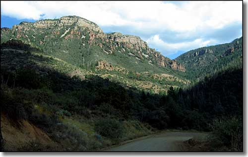 Sierra Ancha Mountains