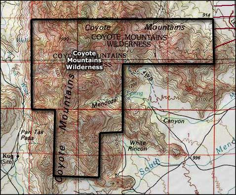Coyote Mountains Wilderness Blm Sites In Arizona