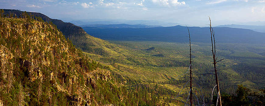A Mogollon Rim view near Payson