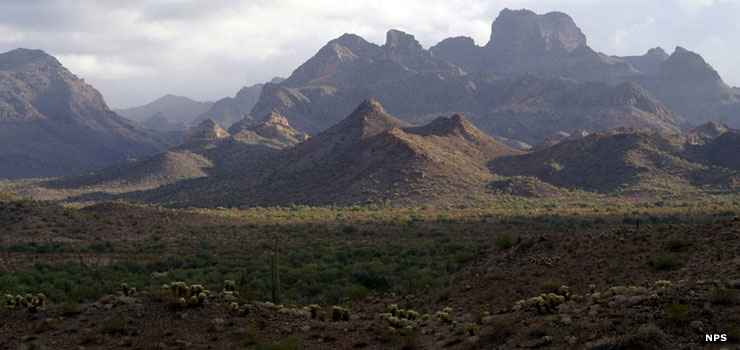 Bates Mountains, Organ Pipe Cactus National Monument