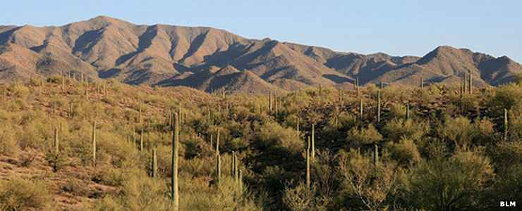 South Maricopa Mountains, along the route of the de Anza National Historic Trail