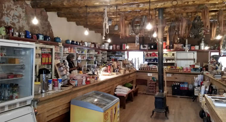 Inside Hubbell Trading Post