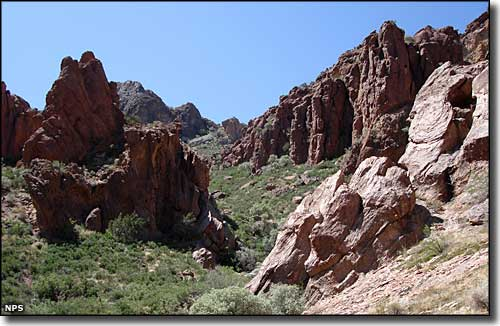 Arch Canyon, Organ Pipe Cactus National Monument
