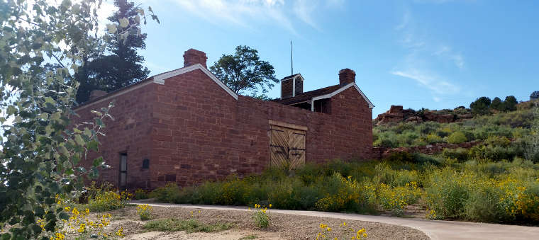 Winsor Castle at Pipe Spring National Monument