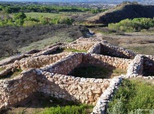 Rooms at Tuzigoot National Monument