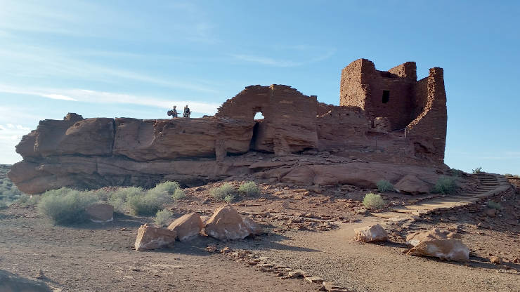 Wukoki Ruin at Wupatki National Monument