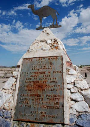 Hadji Ali Monument, Quartzsite, Arizona