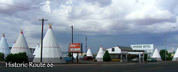 The Wigwam Motel, Holbrook, Historic Route 66
