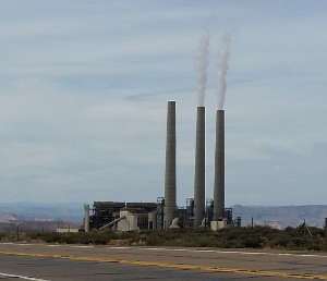 The Navajo Generating Plant on the Navajo Nation