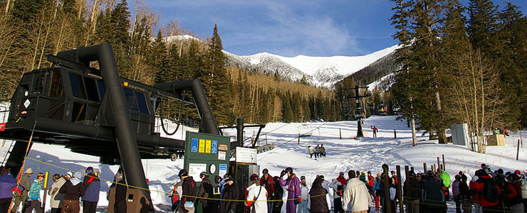 The Snowbowl's Agassiz ski lift