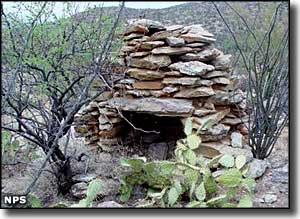 All that's left of an old homestead in Rincon Mountain Wilderness