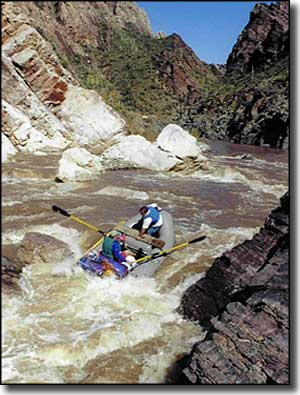 Rafting in Salt River Canyon Wilderness