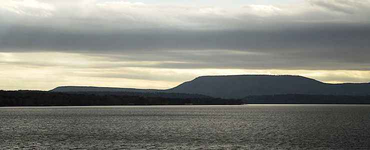 Mount Nebo from Lake Dardanelle