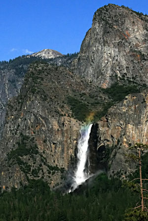 Bridal Veil Falls in Yosemite National Park