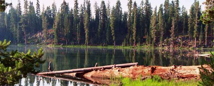 Echo Lake, Lassen National Forest