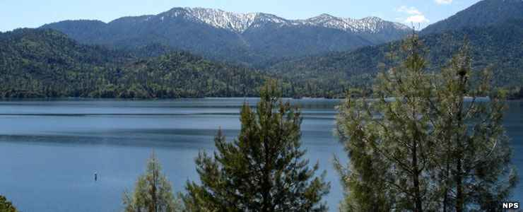 Whiskeytown Reservoir