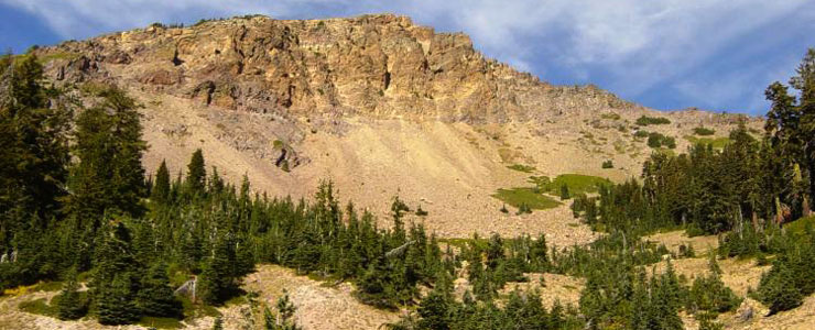 Brokeoff Mountain, Lassen National Forest