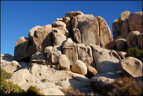 North Horror Rock at Joshua Tree National Park