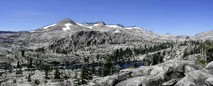 The Crystal Mountains in Desolation Wilderness
