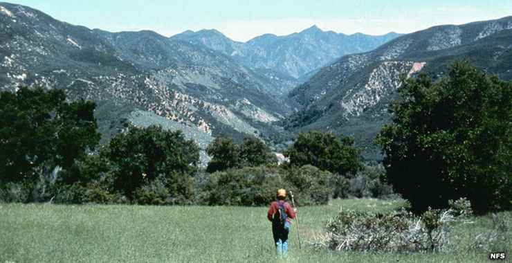 Hiking into Garcia Wilderness