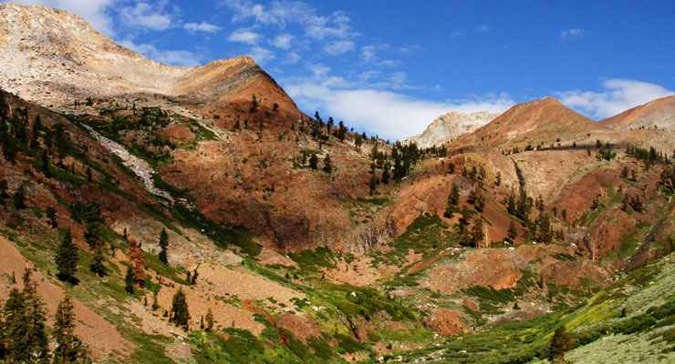 Farewell Gap in Golden Trout Wilderness