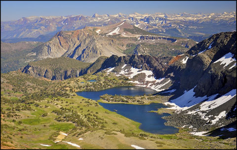 Alger Lakes area, Ansel Adams Wilderness