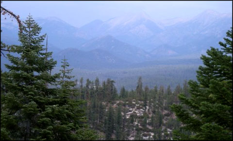 A view in the heart of Golden Trout Wilderness