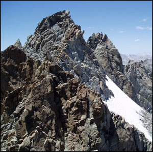 Palisade Crest in John Muir Wilderness