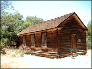 Manzana Schoolhouse in San Rafael Wilderness