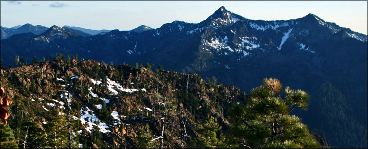 A view from high in Siskiyou Wilderness