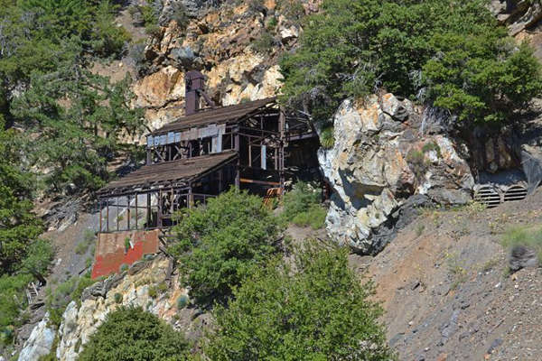 The old Big Horn Mine on Iron Mountain
