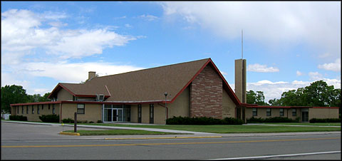 LDS Chapel in Manassa, Colorado