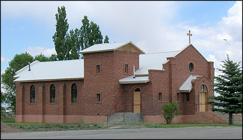 The Catholic Church in Manassa, Colorado
