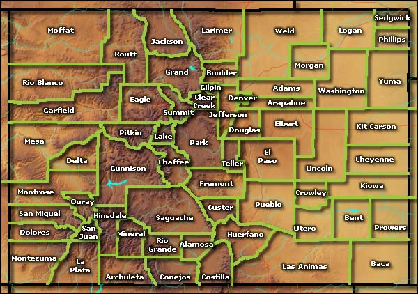 Colorado Counties