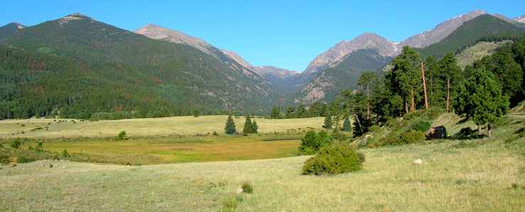 Heading into Horseshoe Park, coming from Estes Park