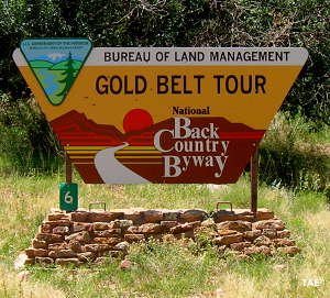 Welcome to the Gold Belt Tour Backcountry Byway