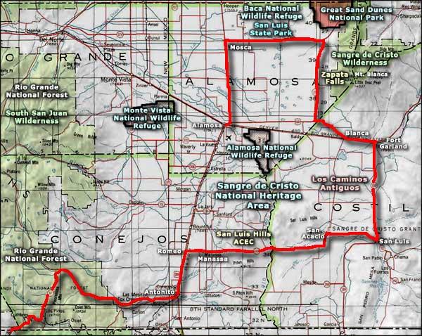 Monte Vista Colorado Colorado Towns And Places