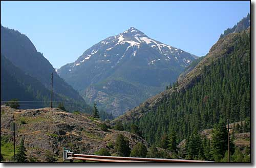 Between Ridgway and Ouray on the San Juan Skyway